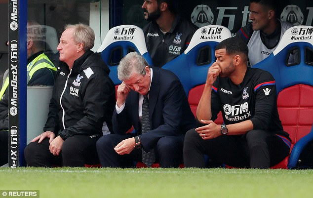 But the mood in the dugout and all around Selhurst Park dropped suddenly on six minutes