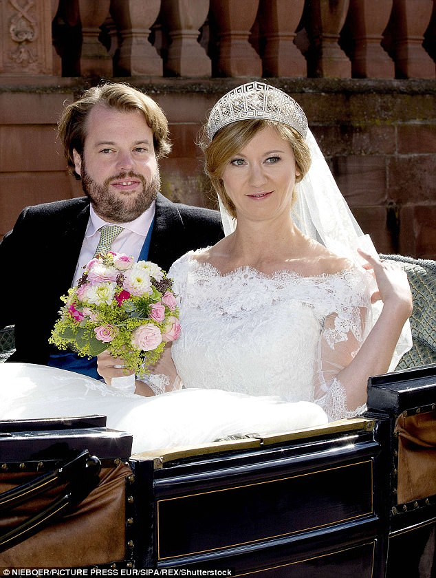 Theyoung couple are are third cousins via Victoria's eldest daughter, Victoria - or 'Vicky' - who married Friedrich III of Germany