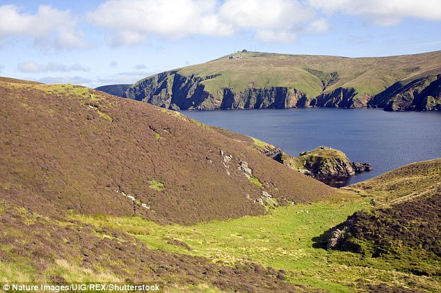 The population of Unst (pictured) halved to just 600 people after the closure. Local politicians have hailed the re-opening as 'excellent news'