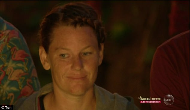 'I guess you can say payback is a bitch,' sneered Tara as she wrote down Jarred's name at Tribal Council