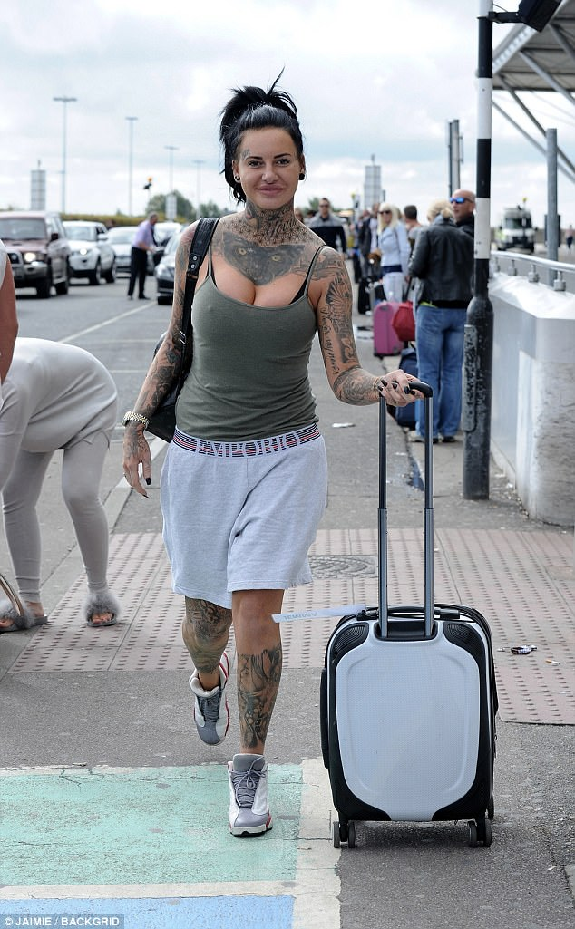 Angry: Jemma Lucy, 29, was keen to make sure the world knew she was wronged when she took to Snapchat to launch an angry tirade against luxury department store Harrods for 'turning her away' for having a suitcase