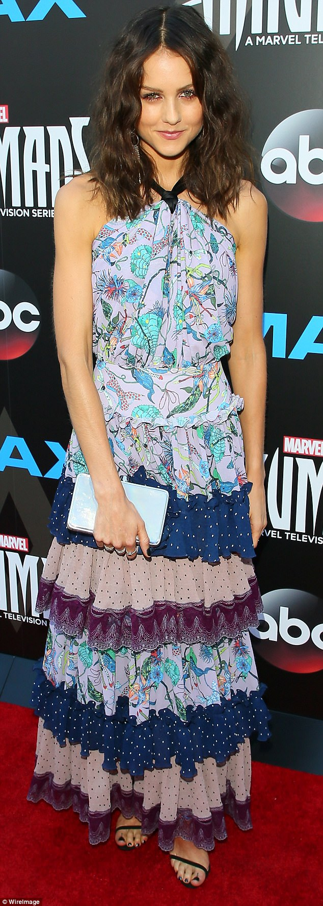Super role: Isabelle Cornish's star is rising in Hollywood, thanks to her casting in the upcoming Marvel TV series Inhumans