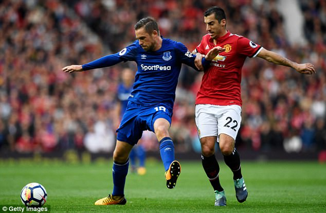 Gylfi Sigurdsson failed to offer the same threat he has posed for United in the past