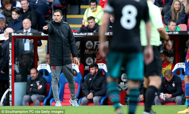36-year-old Zubeldia replacedMauricio Pellegrino, who is now manager of Southampton