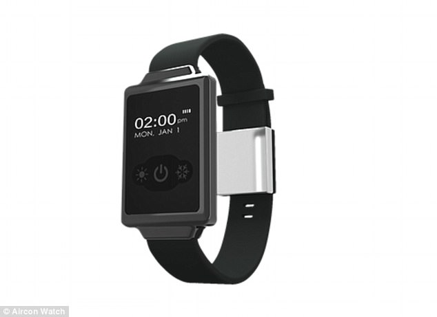 For women going through the menopause, it can be difficult ¿ and at times embarrassing ¿ to cool down during a hot flush. But help could be at hand, in the form of a new smart watch, called the Aircon Watch