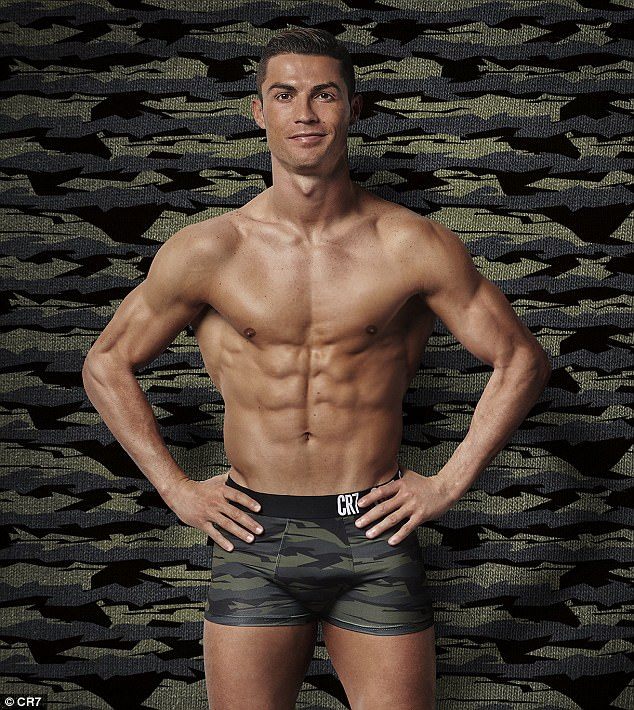 Cristiano Ronaldo Strips Down To His Boxers For Campaign