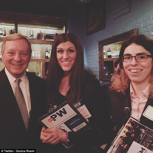 On the campaign trail: Roem hashas outraised her conservative opponent, who came within 500 votes of losing his seat four years ago, by a 5-to-1 margin