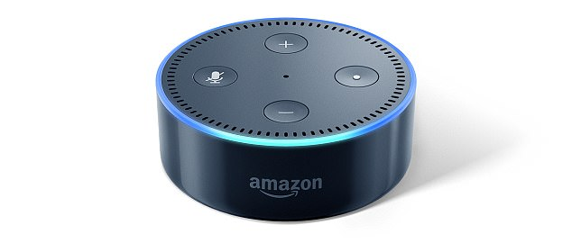 The new speaker will go head to head with the Amazon Echo Dot, shown here, and will even have the same $49 price