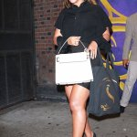Beyonce Rock All Black For Broadway