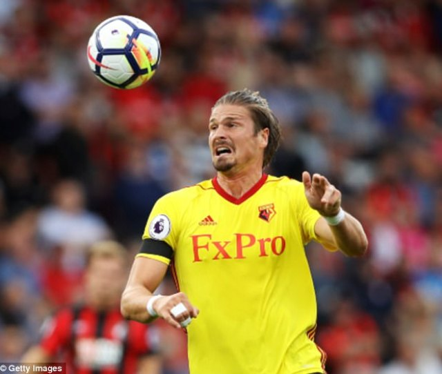 Sebastian Prodl Has Committed His Future To Watford By Signing A New Contract Until