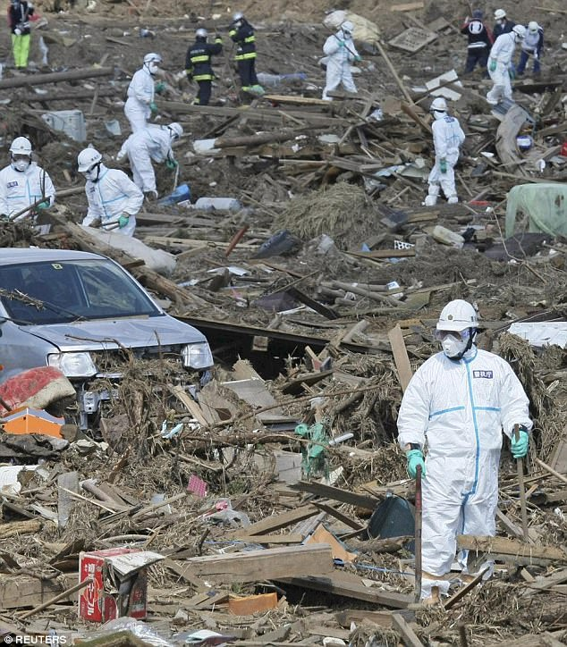 A similar earthquake back in 2011 killed 15,894 people and injured 10 more when a tsunami, landslides and fires broke out as a result. But experts are predicting today's quake should pass by without causing any harm