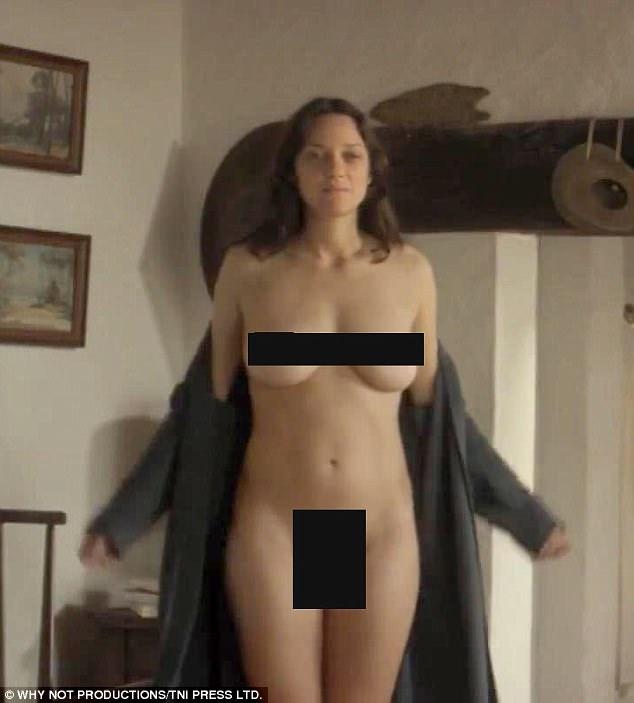 marion cotillard foto nuda