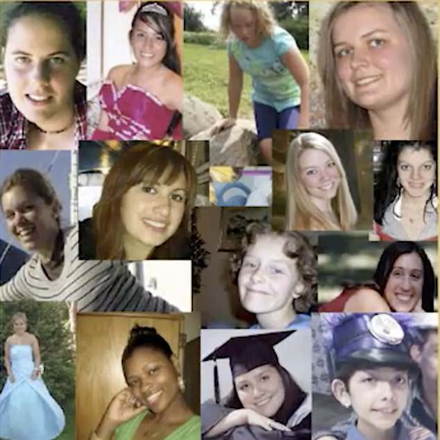 These girls are among 'hundreds of documented deaths following the HPV vaccine', according to Joan Shenton, the narrator of documentary Sacrificial Virgins