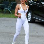 Mel B Looking Slender In West Hollywood