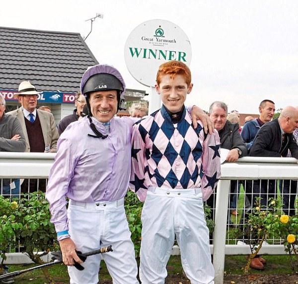 David Egan says dad John is his main rival | Daily Mail Online