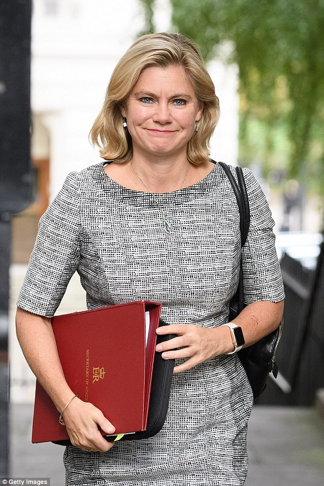 The research was carried out by the National Secular Society who has passed on the findings to Education Secretary Justine Greening (pictured)
