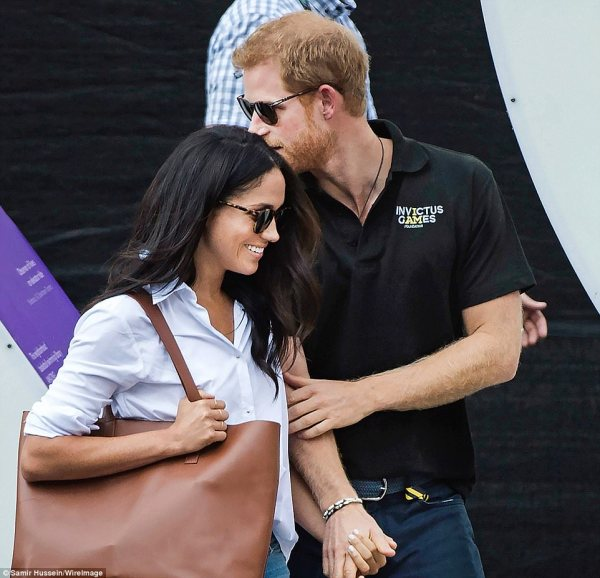 Harry and Meghan Markle make first appearance together ...