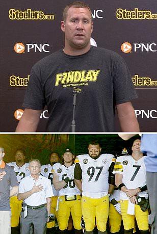 Ben Roethlisberger says he regrets Steelers anthem boycott