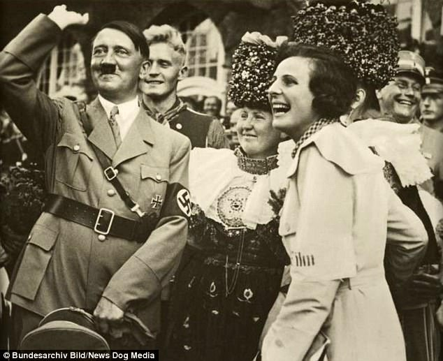 Image result for hitler laughing