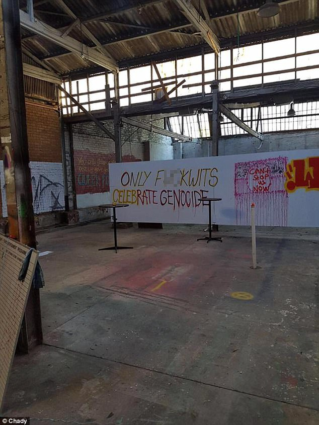 Sydney Gay and Lesbian Mardi Gras Staff left the warehouse in July 2009 after using the facility for more than six years (pictured)