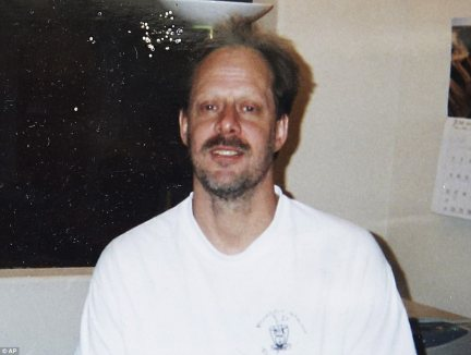 Paddock (seen here in an undated photo) made a fortune in real estate, his brother said. It also emerged on Tuesday that he may have previously targeted another music festival, held five and a half miles from where Sunday's shooting occurred