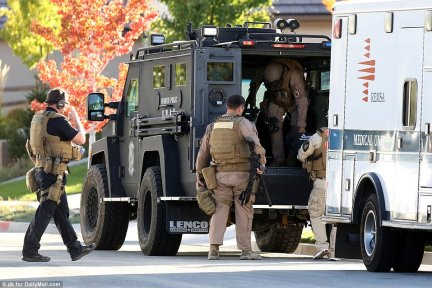Bomb experts were included in the SWAT deployment due to the fear that Paddock may have left booby traps at the home. Explosives had been found in his Mesquite house, and fertilizer used in bomb-making found in his car in Las Vegas