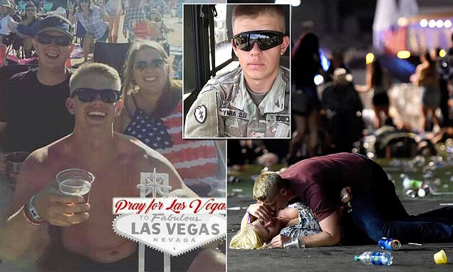 Las Vegas: Man who protected woman is a US Army soldier