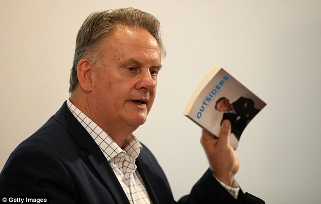 Former Labor leader Mark Latham has launched his new book 'Outsiders' in Sydney