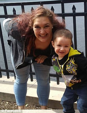 Mackenzy Trievel and her son Qadan