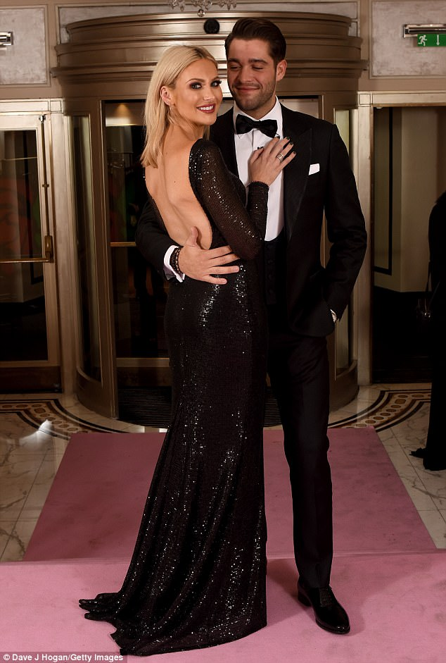 Wow! Meanwhile Stephanie Pratt and Jonny Mitchell made a glamorous statement as they attended the Amy Winehouse Foundation Gala