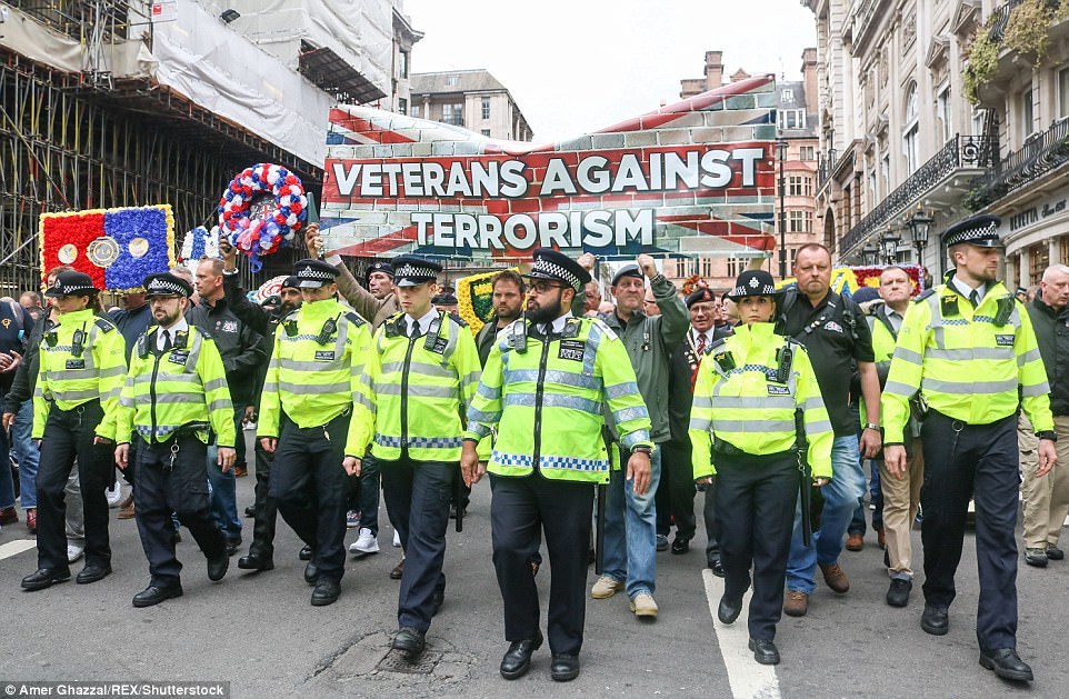The march's organiser and Football Lads Alliance founder said the demonstrators were normal people who are opposed to all forms of extremism
