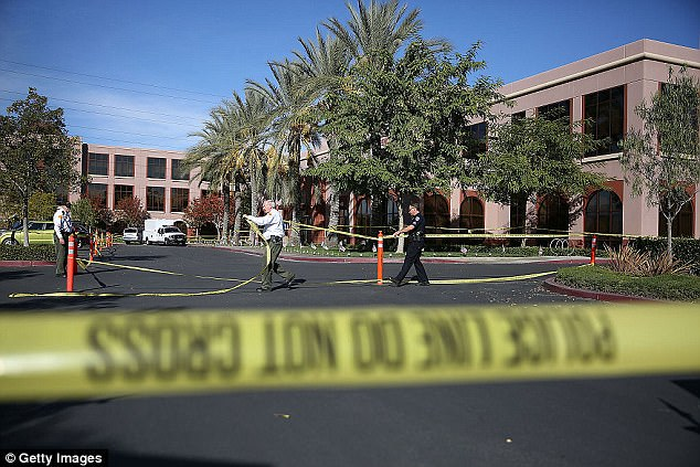 On December 2, 2015, a terrorist duo shot up a holiday party at the Inland Regional Center in San Bernardino, California, during a holiday party, killing 14 and injuring 21 others