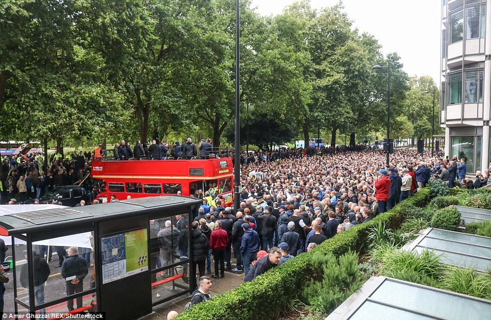 The Football Lads Alliance was formed in the wake of the London Bridge terror attack in summer and aims to unite fans from across the country