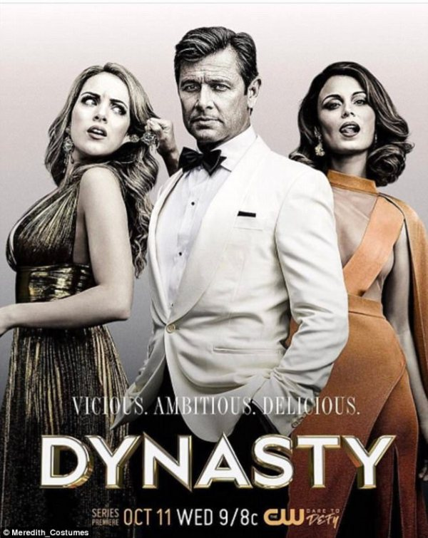 Dynasty reboot costume designer talks to FEMAIL | Daily ...