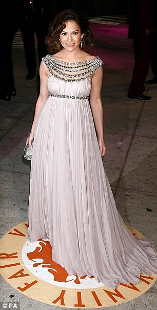 Jennifer Lopez wore the brand to the Oscars Vanity Fair Party in 2007