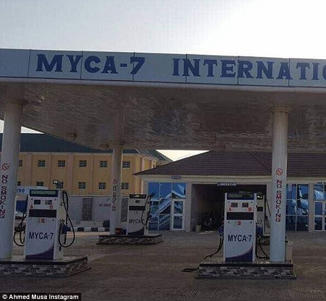 Musa has added the 'Myca-7 International' petrol station to his growing business portfolio