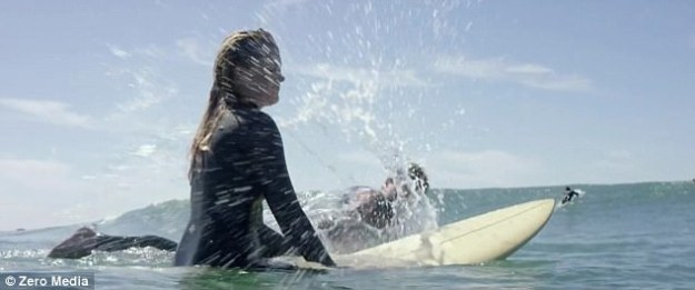 Medina seeks solace in surfing and the boys who make up the surfer dude community in the upscale neighborhood