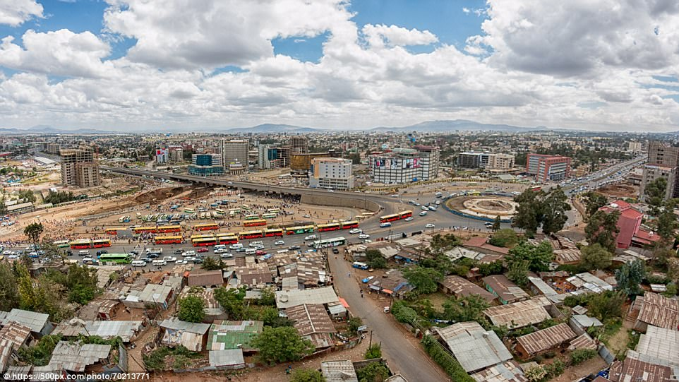 The perfect place for a caffeine hit: Ethiopia's sprawling capital, Addis Abada, tops the Lonely Planet list for coffee fans