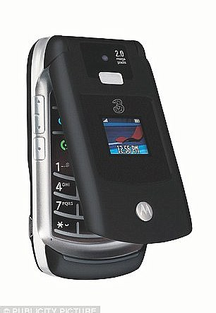 Over the Razr's four-year run, the V3 model sold more than 130 million units