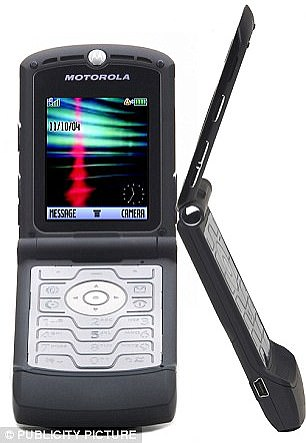 The Motorola Razr became the best-selling flip-phone in the world to date