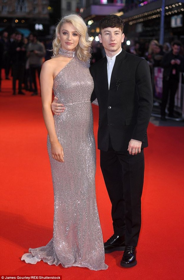 Film stars:Barry Keoghan was supported by his glamorous girlfriend Shona Guerin