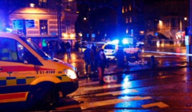 Multiple casualties have been reported after the man started shooting people in the heart of Trelleborg, in the south of the country at around 10.30pm
