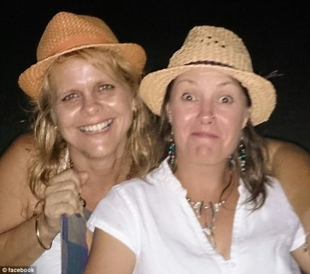 Mrs Pike (left) and her instructor's bodies were reportedly discovered tangled in a tree on a banana farm, about 1.5km from the regular landing zone, NewsCorp reports