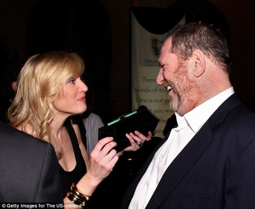 Kate Winslet (above with Weinstein in 2009) said she had heard stories about him but hoped they were not true. In her statement, she said: 'Maybe we have all been naive'
