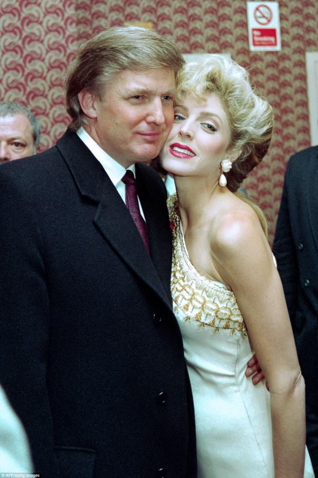 Dismissed: Though she said she would not say anything bad about Melania, she called Trump's second wife ¿ with whom he had an affair while married to Ivana ¿ 'nobody'