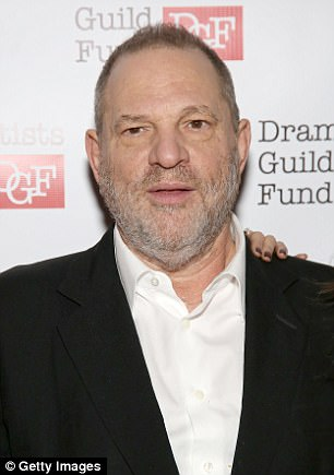 She called the alleged behavior of Weinstein (pictured) 'appalling and unacceptable' amid mounting claims of sexual harassment and assault