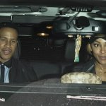 Megan Good On a Date Night With Hubby,Devon Franklin