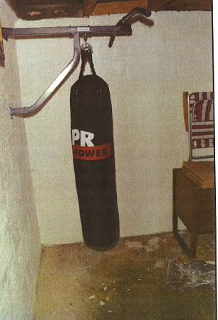 The 22-year-old former A-grade student set up an Argos punch bag at his home so he could get fit for jihad