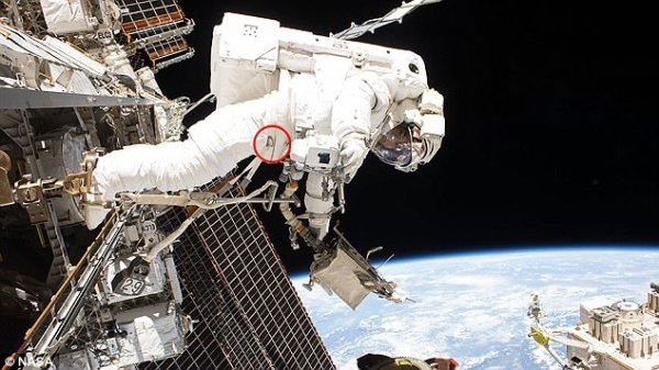 NASA astronauts replace blurry camera on robot arm | Daily ...
