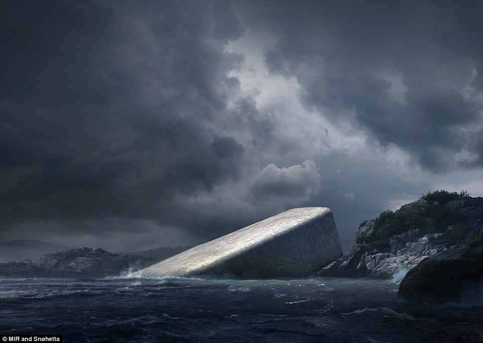 Designs for Europe¿s first underwater eatery have been revealed - and it¿s stunning